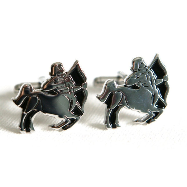 Sagittarius Astrology Cufflinks Birthday - MarkandMetal.com