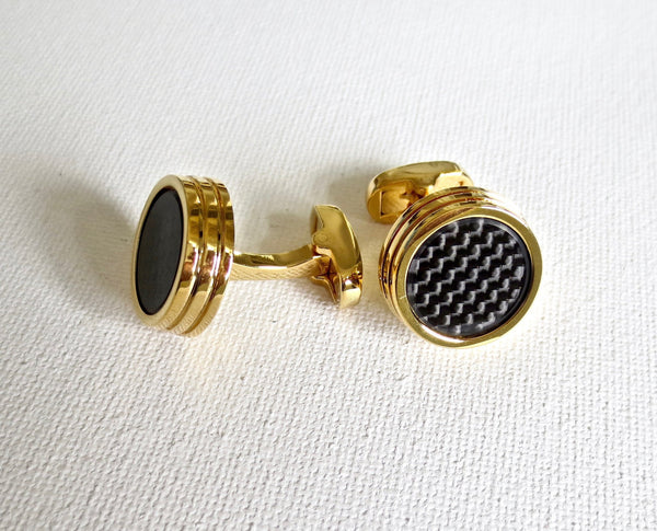 Carbon Fiber Cufflinks - Men's Accessories and gifts for him