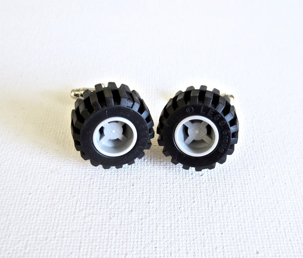 LEGO Tires Cufflinks - MarkandMetal.com