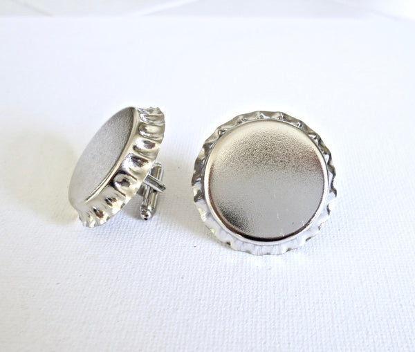 Bottle Caps Cufflinks - MarkandMetal.com