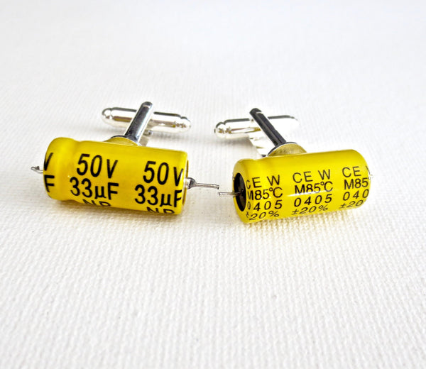 Electrical Engineer Cufflinks - MarkandMetal.com