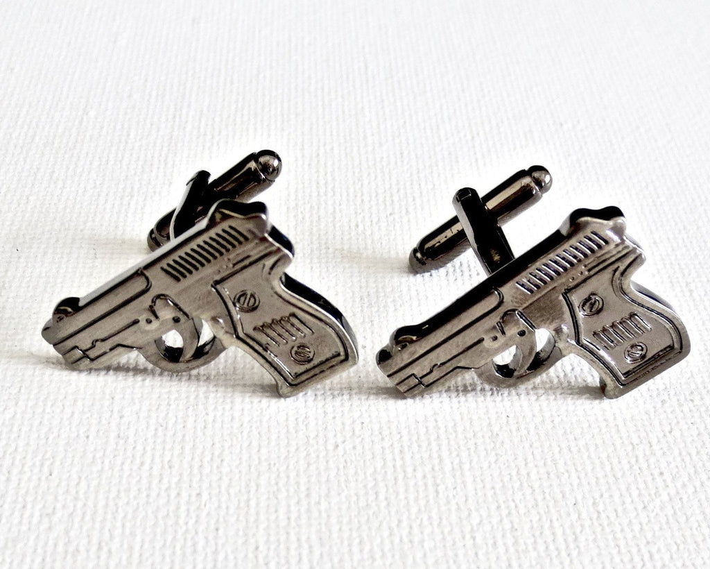 Guns Cufflinks - Men's Accessories and gifts for him