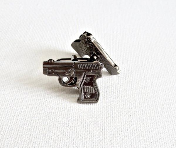 Guns Cufflinks - Groomsmen Groom Wedding Gift For Him