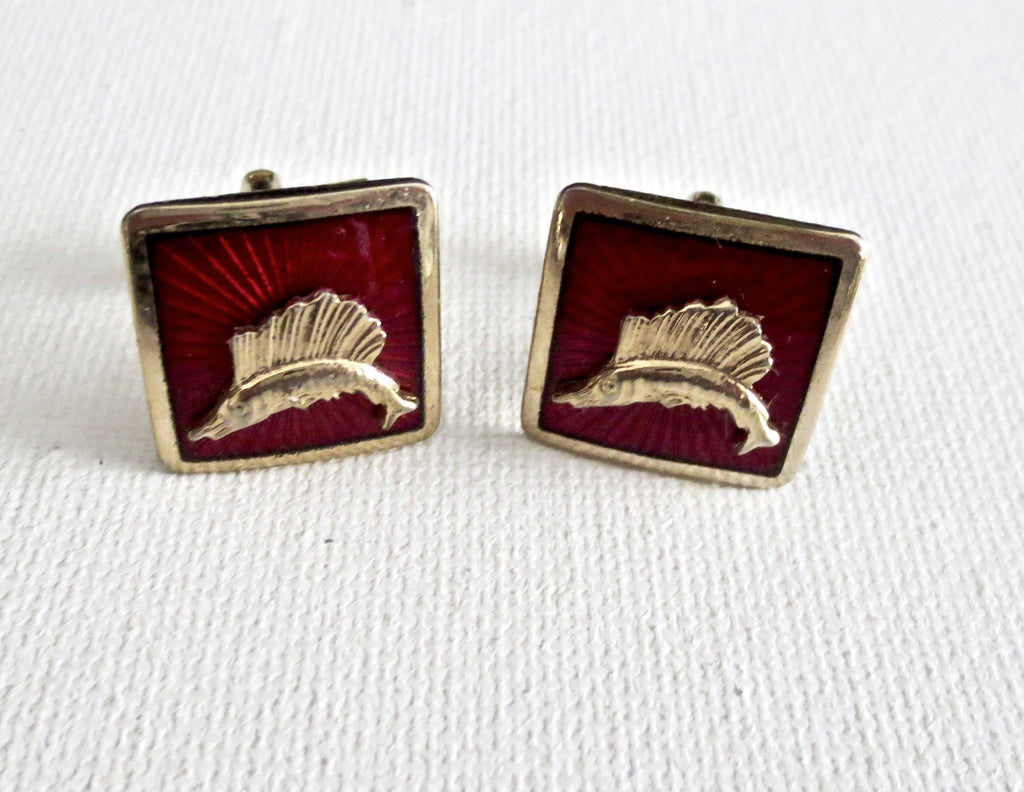 Marlin Fisherman Cufflinks - MarkandMetal.com