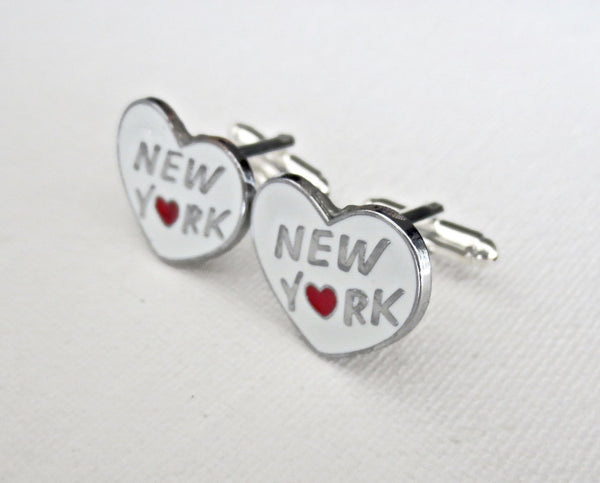 New York Cufflinks - MarkandMetal.com
