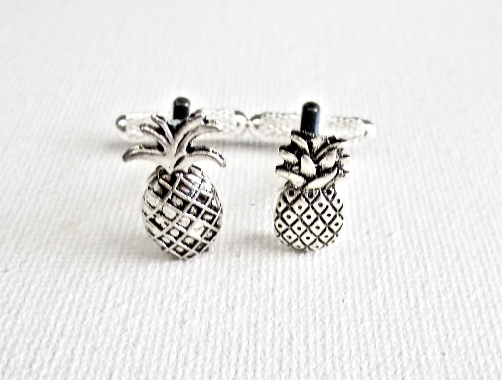 Pineapple Tropical Cufflinks - MarkandMetal.com