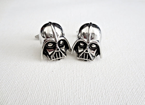 Darth Vader Star Wars Cufflinks - MarkandMetal.com