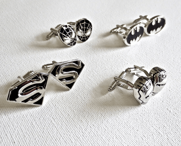 Superheros Cufflinks - MarkandMetal.com