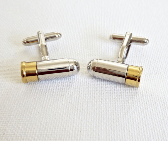 Bullets Military Cufflinks - MarkandMetal.com