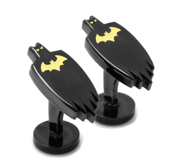 Batman Cape Glow in the Dark Cufflinks BY DC COMICS - MarkandMetal.com