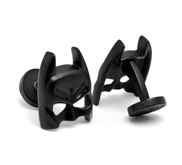 Batman Satin Black Mask Cufflinks BY DC COMICS - MarkandMetal.com