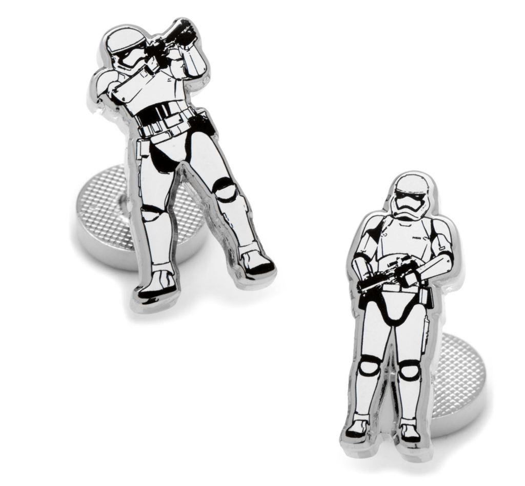 Stormtrooper Action Cufflinks BY STAR WARS - MarkandMetal.com