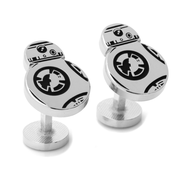 BB-8 Silver Cufflinks BY STAR WARS - Men's Accessories and gifts for him