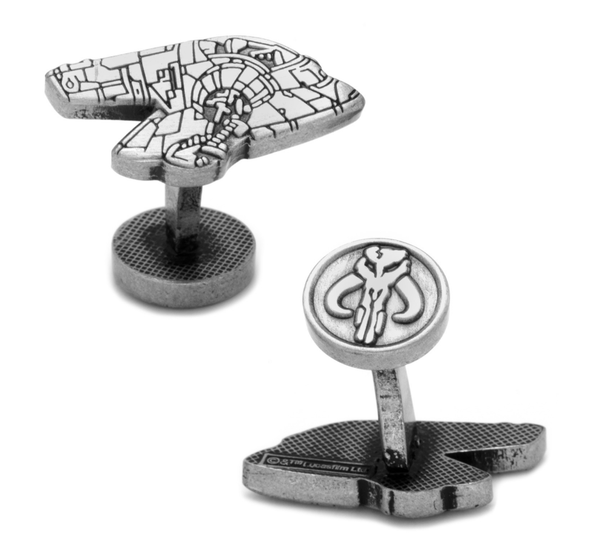 Boba Fett Slave I Cufflinks BY STAR WARS - MarkandMetal.com