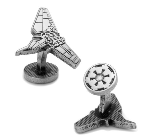 Imperial Shuttle Cufflinks BY STAR WARS - MarkandMetal.com