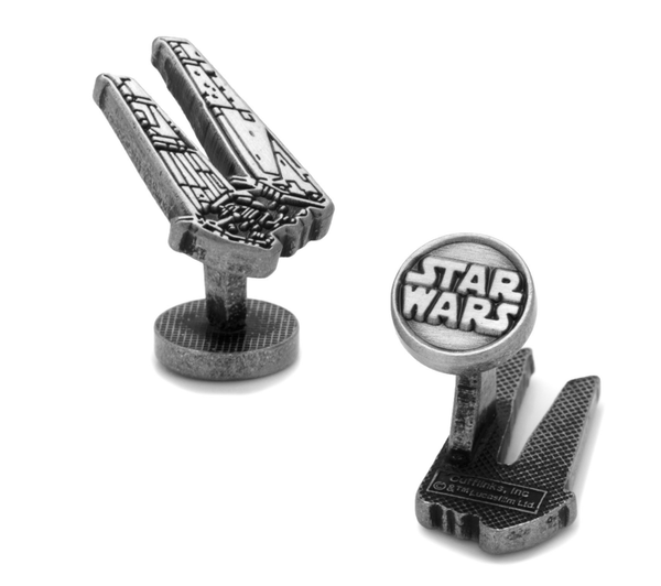 Kylo Ren Shuttle Cufflinks BY STAR WARS - MarkandMetal.com