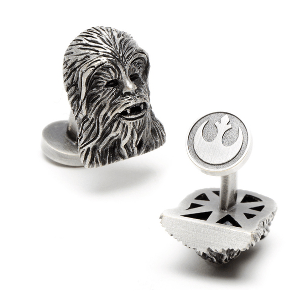 Chewbacca 3D Cufflinks BY STAR WARS - MarkandMetal.com