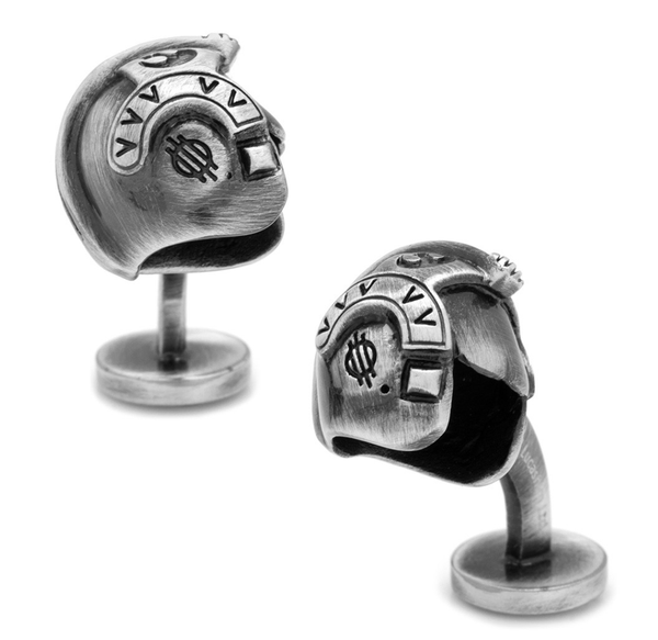 Luke Skywalker 3D Helmet Cufflinks BY STAR WARS - MarkandMetal.com