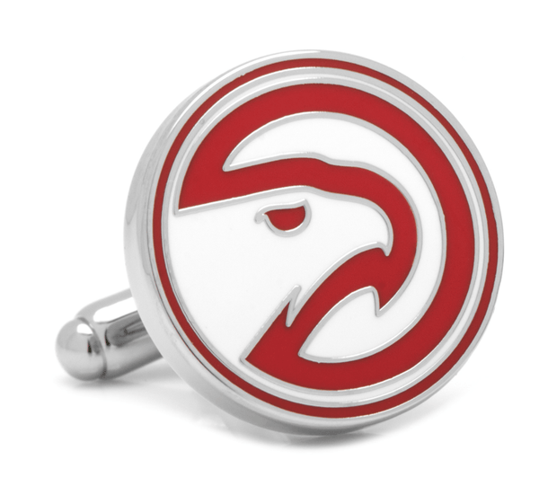Atlanta Hawks Cufflinks by NBA - MarkandMetal.com