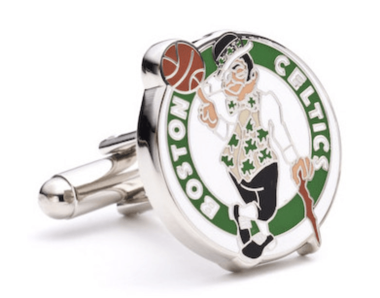 Boston Celtics Cufflinks BY NBA - MarkandMetal.com