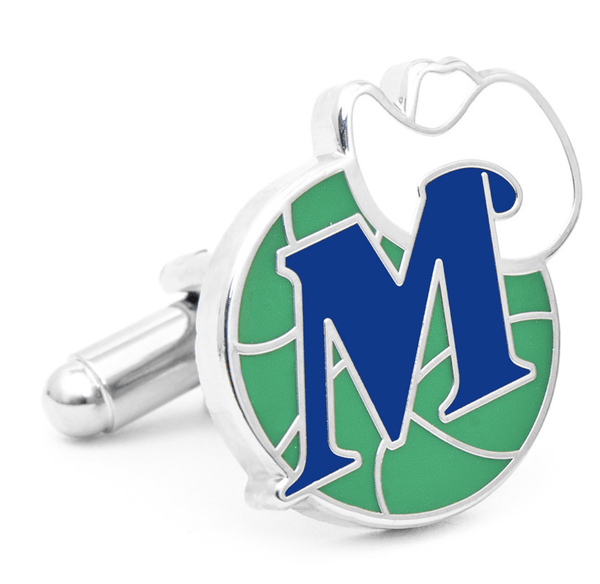 Dallas Mavericks Vintage Cufflinks BY NBA - Men's Accessories and gifts for him