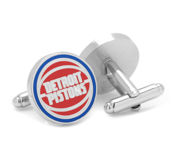 Detroit Pistons Cufflinks BY NBA - Groomsmen Groom Wedding Gift For Him