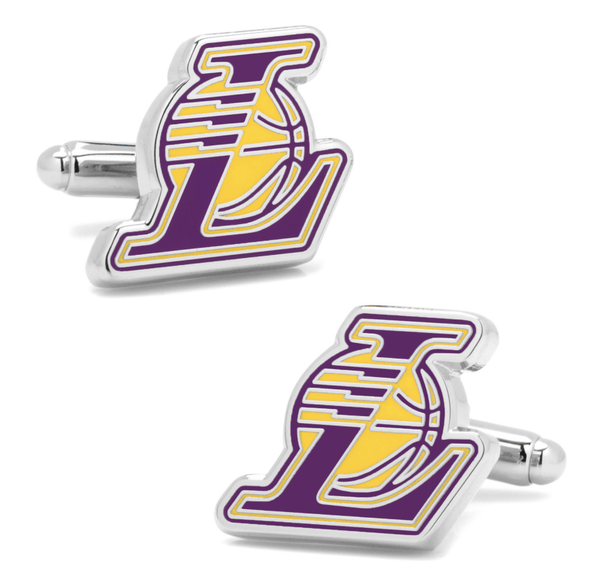 Los Angeles Lakers Cufflinks BY NBA - MarkandMetal.com