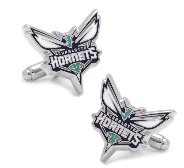 Charlotte Hornets Cufflinks BY NBA - Men's Accessories and gifts for him
