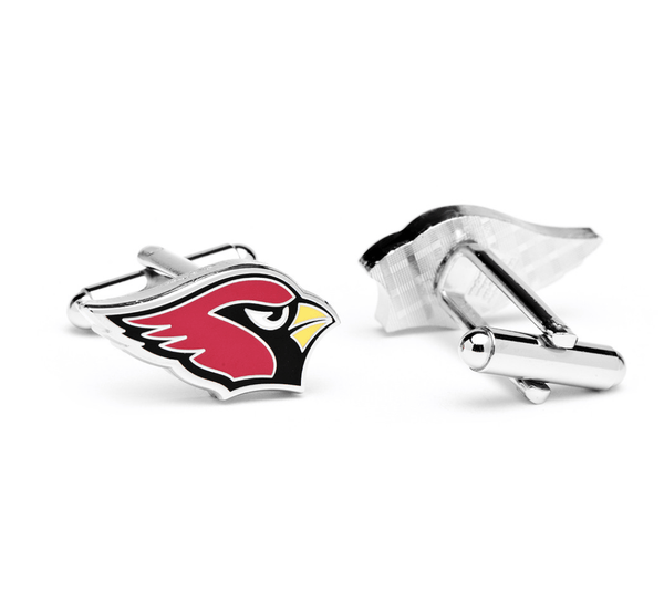 Arizona Cardinals Football Cufflinks BY NFL - MarkandMetal.com