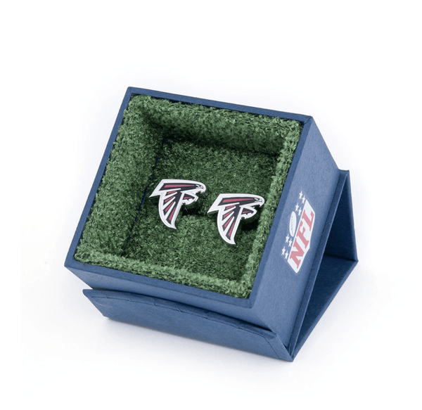 Atlanta Falcons Football Cufflinks BY NFL - MarkandMetal.com