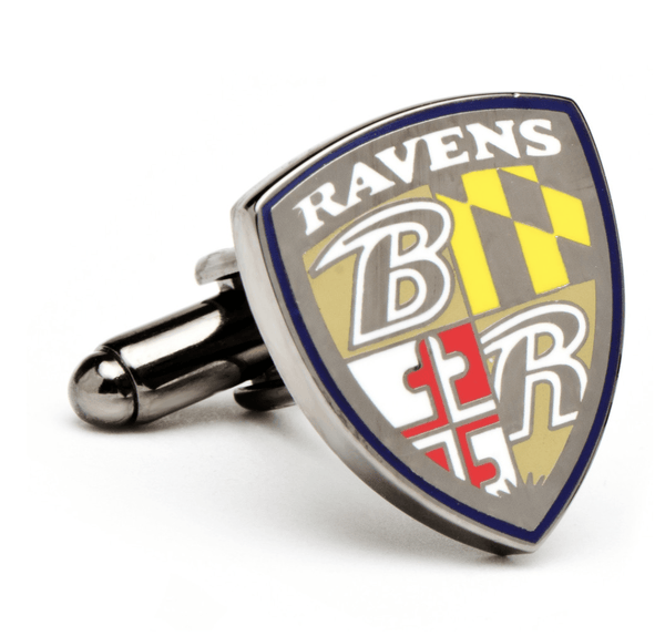 Baltimore Ravens Football Cufflinks BY NFL - Men's Accessories and gifts for him