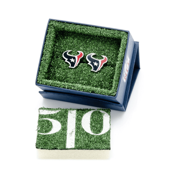 Houston Texans Cufflinks BY NFL - MarkandMetal.com