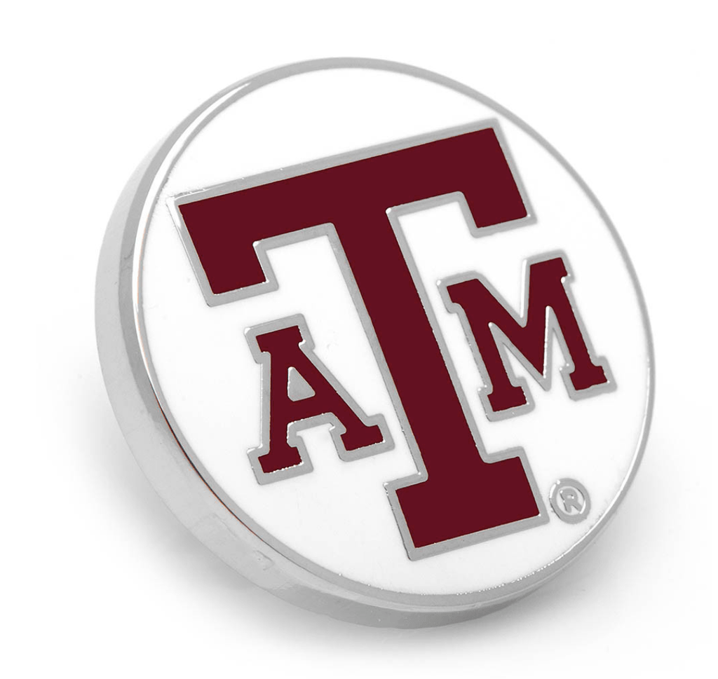 Texas A&M Aggies Lapel Pin BY NCAA - MarkandMetal.com