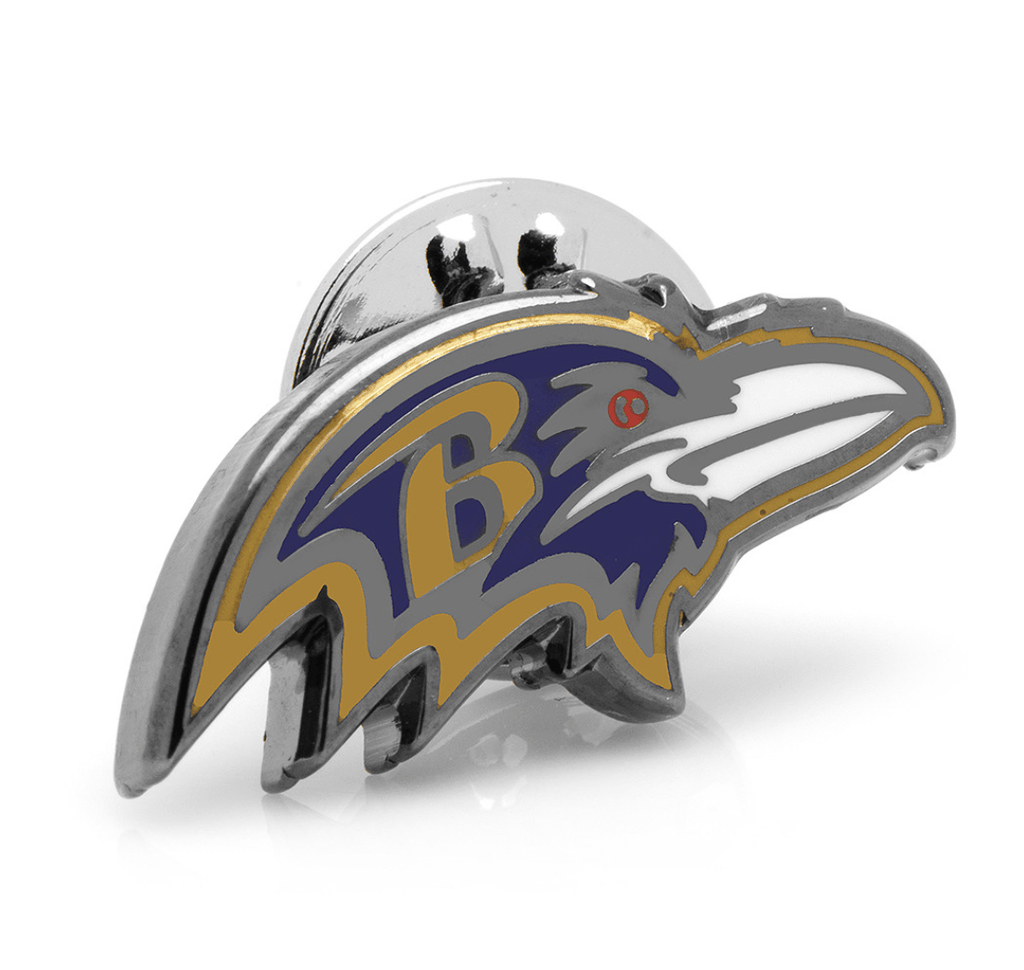 Baltimore Ravens Lapel Pin BY NFL - Groomsmen Groom Wedding Gift For Him