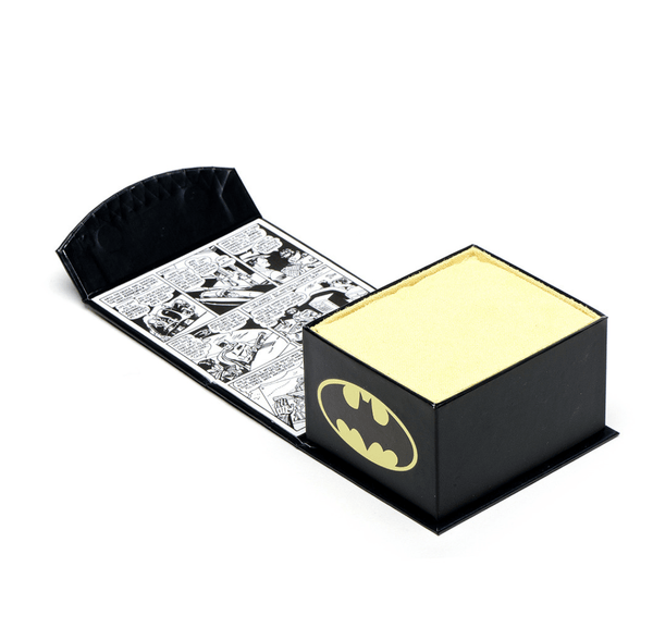 Batman Carbon Fiber Tie Clip BY DC COMICS - MarkandMetal.com