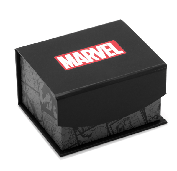 Captain America Silver Tie Bar BY MARVEL - Groomsmen Groom Wedding Gift For Him