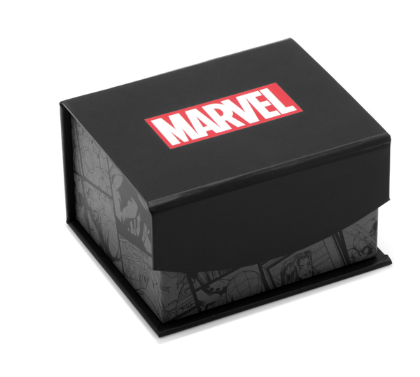 Iron Man Carbon Fiber Tie Clip BY MARVEL - MarkandMetal.com