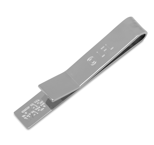 May The Force Be With You Jedi Message Tie Bar - MarkandMetal.com
