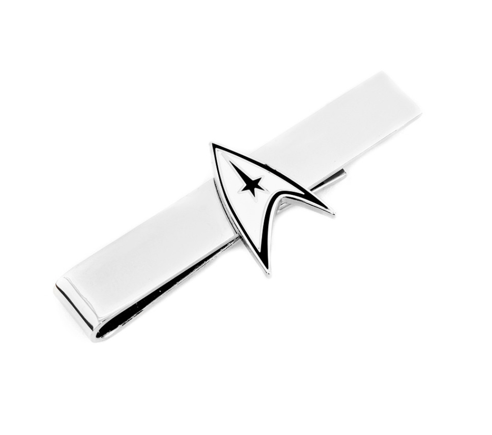 Star Trek Delta Shield Tie Bar BY STAR TREK - MarkandMetal.com