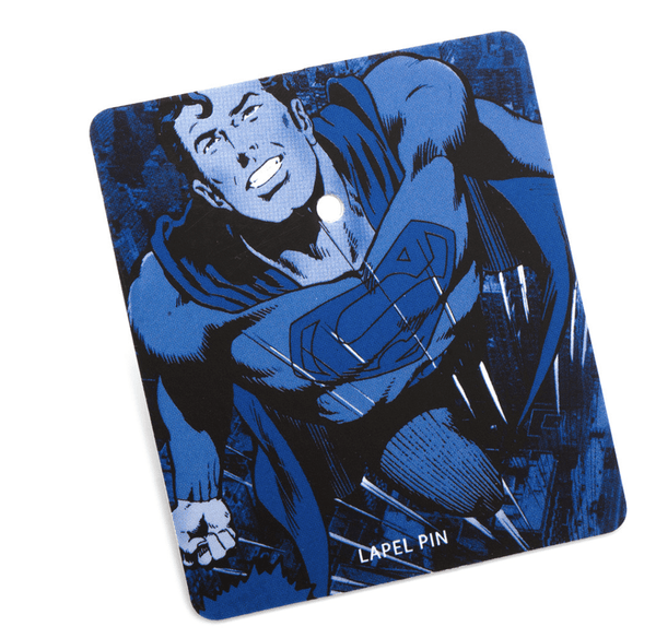 Superman Shield Lapel Pin BY DC COMICS - MarkandMetal.com