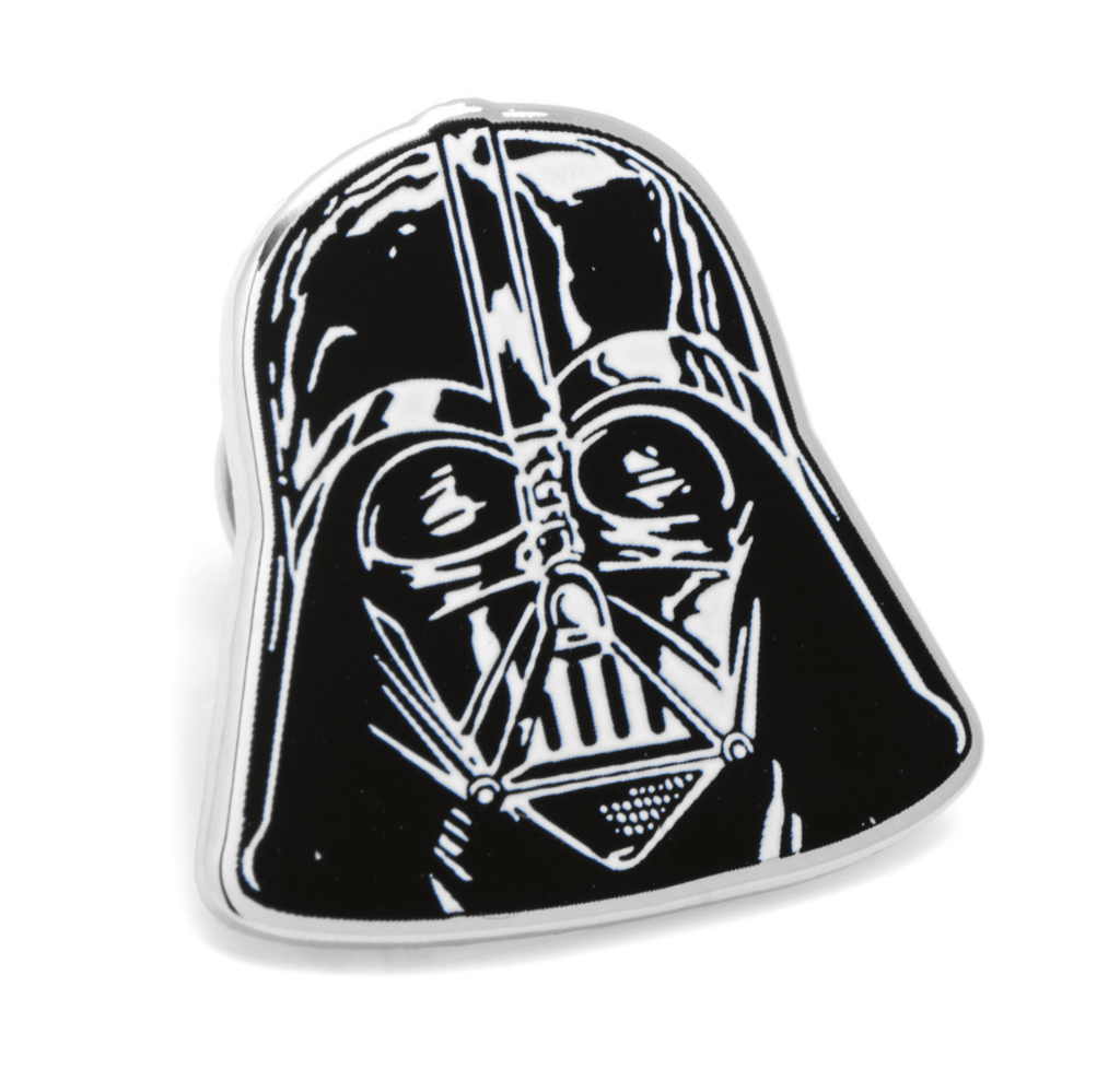 Darth Vader Lapel Pin BY STAR WARS - Groomsmen Groom Wedding Gift For Him