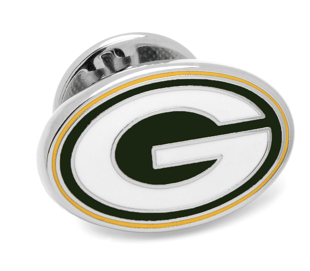 Green Bay Packers Lapel Pin BY NFL - Groomsmen Groom Wedding Gift For Him