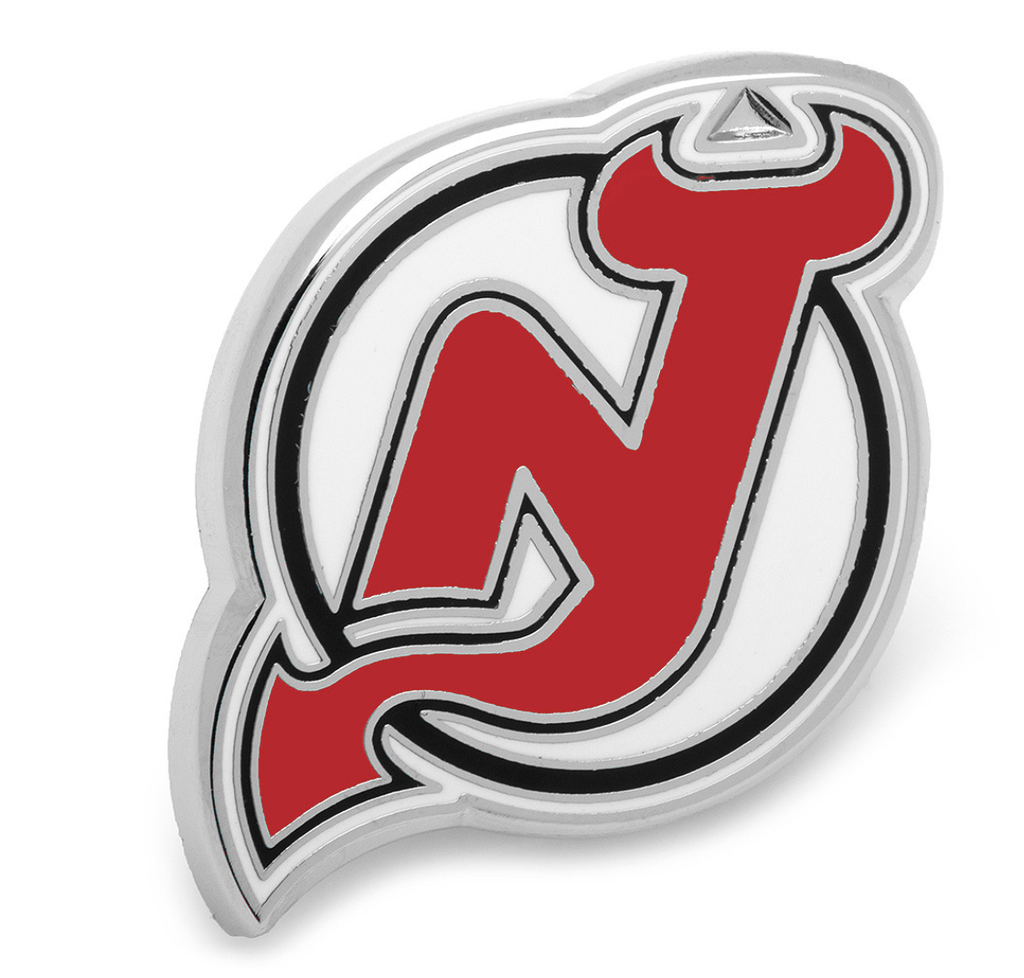 New Jersey Devils Lapel Pin BY NHL - MarkandMetal.com