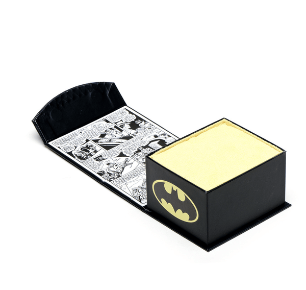 3D Batman Cowl Cufflinks BY DC COMICS - MarkandMetal.com