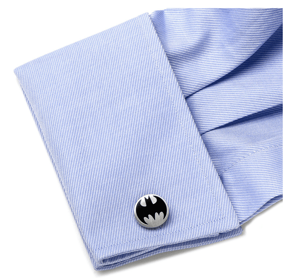 Batman Vintage Logo Cufflinks BY DC COMICS - Men's Accessories and gifts for him