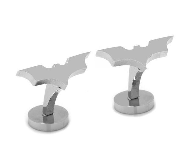 Batman Stainless Steel Dark Knight Cufflinks BY DC COMICS - Groomsmen Groom Wedding Gift For Him