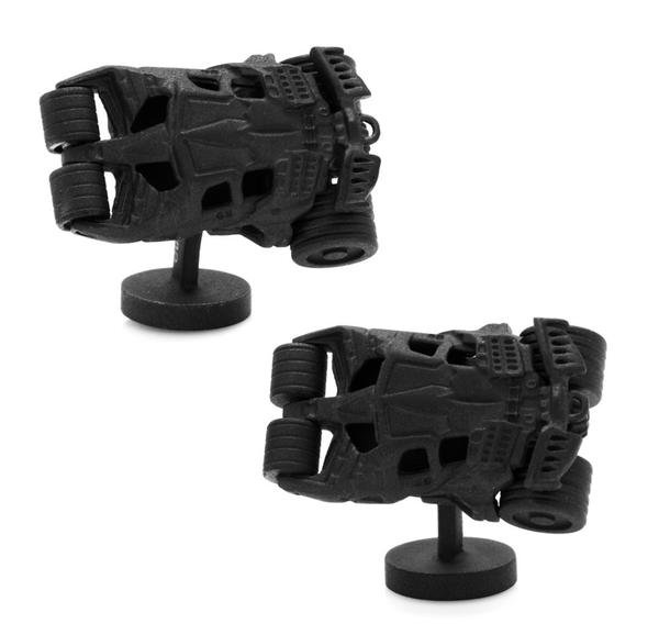 Batman 3D Dark Knight Tumbler Cufflinks BY DC COMICS - MarkandMetal.com