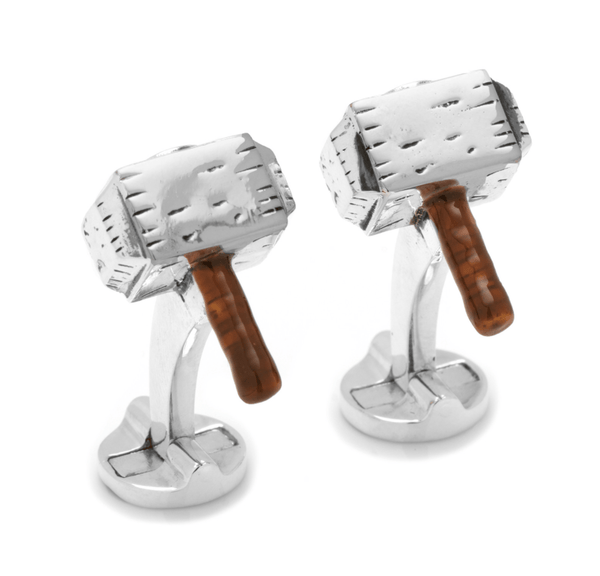 Thor Hammer Cufflinks BY MARVEL - MarkandMetal.com