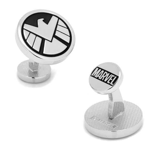 Agents of SHIELD cufflinks BY MARVEL - Groomsmen Groom Wedding Gift For Him