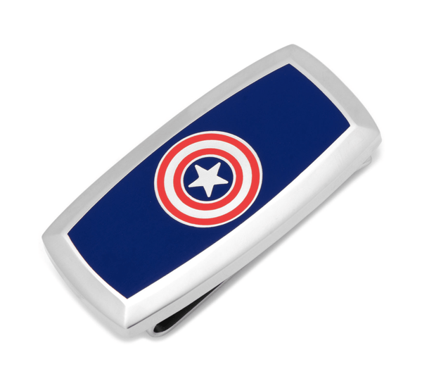 Captain America Money Clip BY MARVEL - MarkandMetal.com